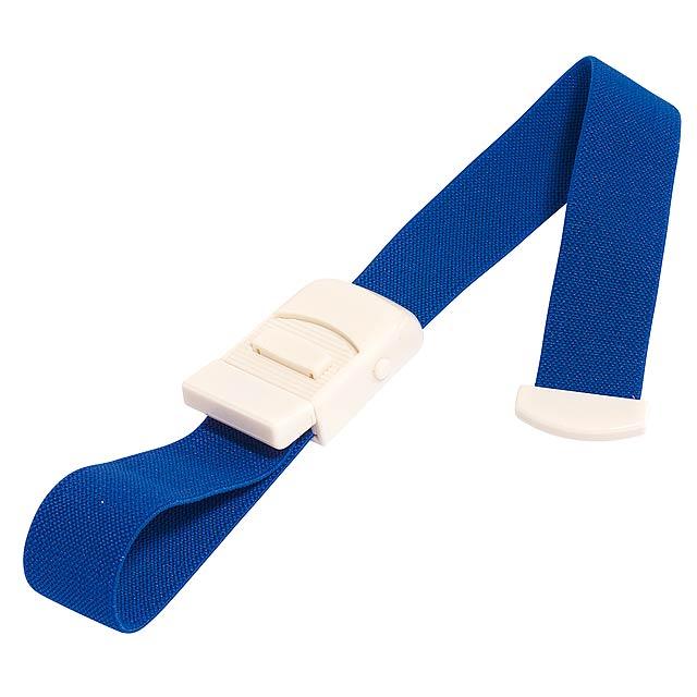 Elastický stahovací pás TIGHT - modrá