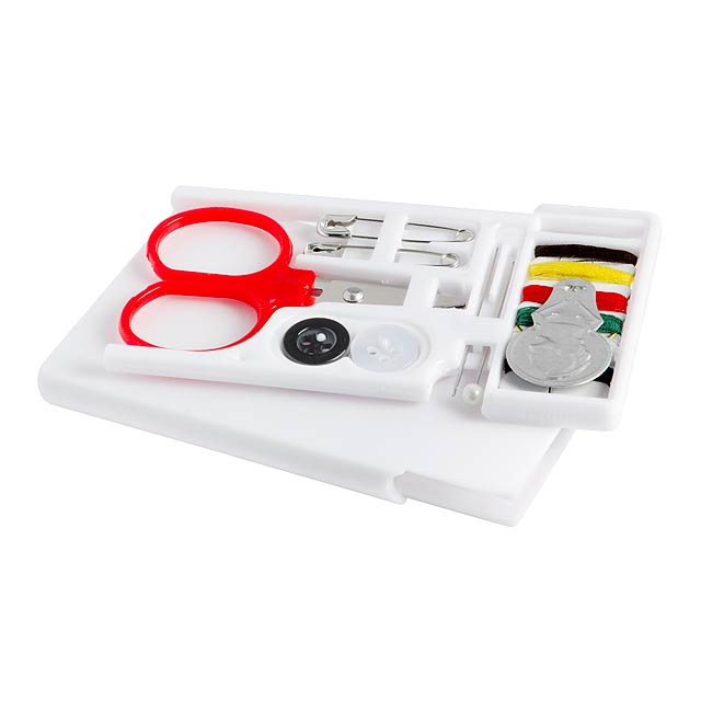 Travel sewing kit TAILOR - white
