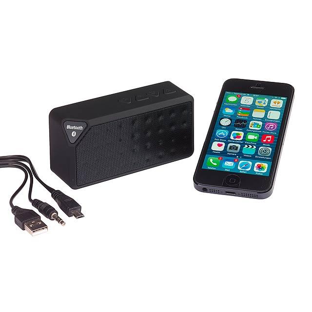 Bluetooth reproduktor CUBOID - černá