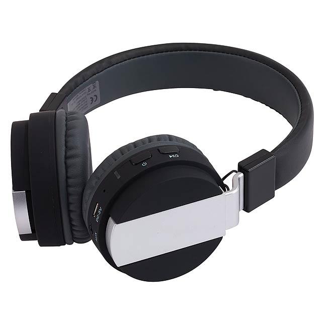 Bluetooth sluchátka FREE MUSIC - černá
