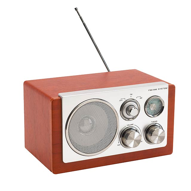 AM / FM rádio CLASSIC - strieborná