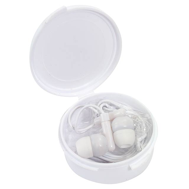In-ear headphones MUSIC - white