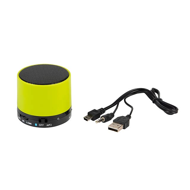 Reproduktor Bluetooth NEW LIBERTY - zelená - foto