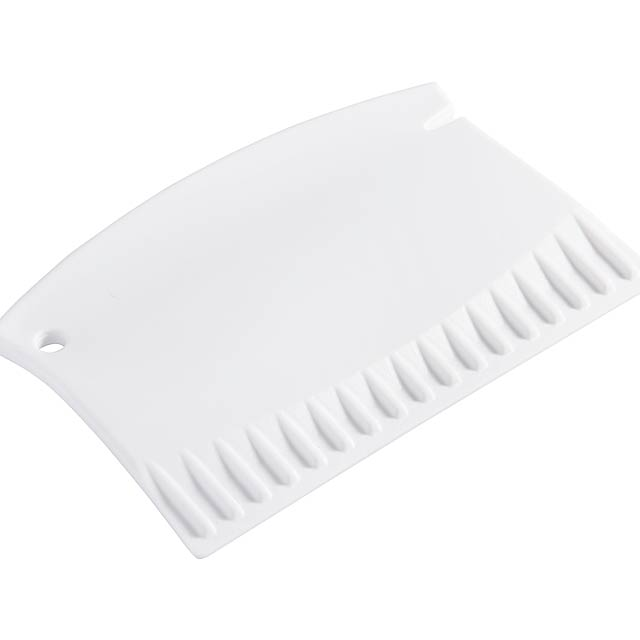 Mini ice scraper COLD NIGHTS - white