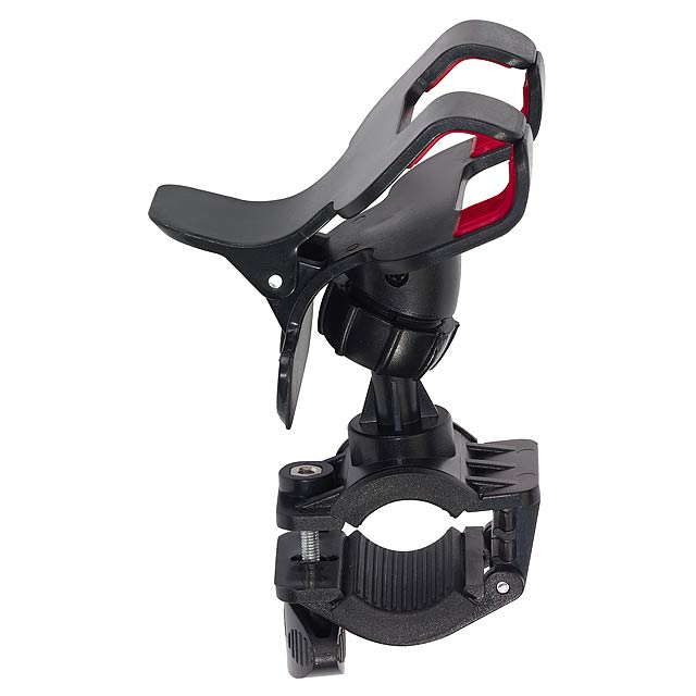 Smartphone holder DOWN HILL for a bicycle - black