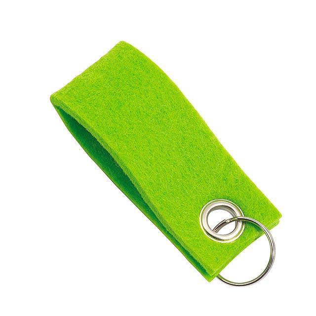 Klíčenka FELT - zelená
