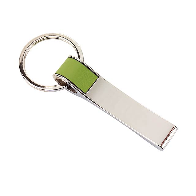Klíčenka  HANG ON - zelená