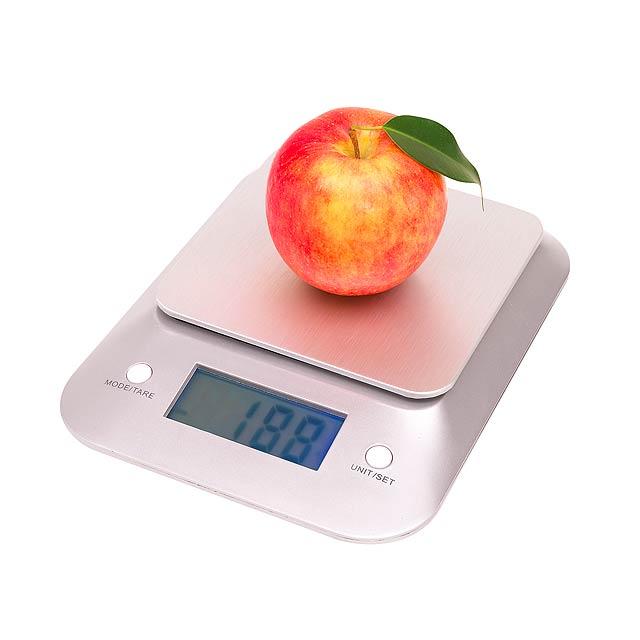 Kuchyňská váha EXQUISITE - stříbrná
