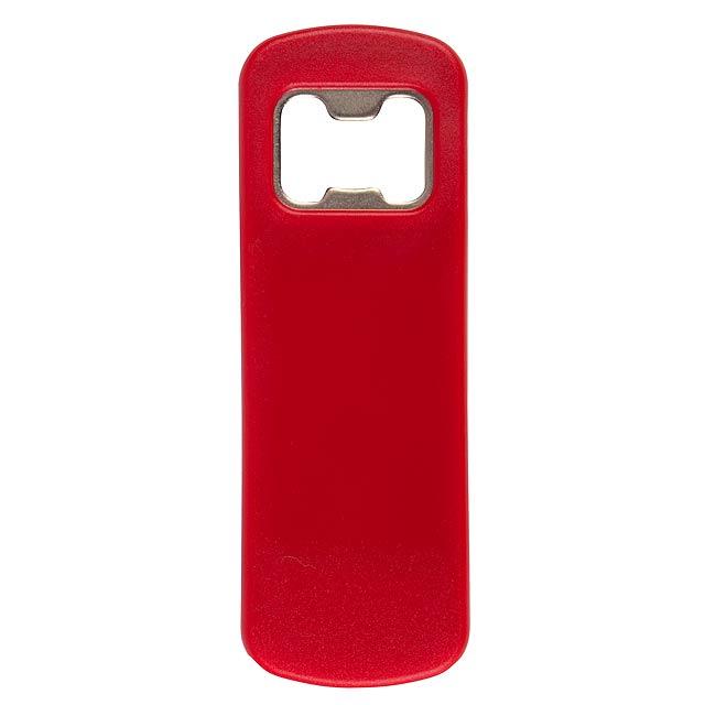 Otvírák na lahve BARTENDER - červená