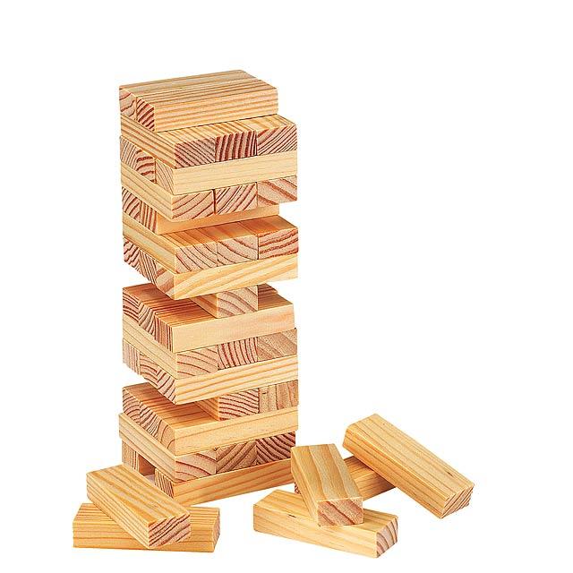 Hra věž HIGH-RISE - dřevo