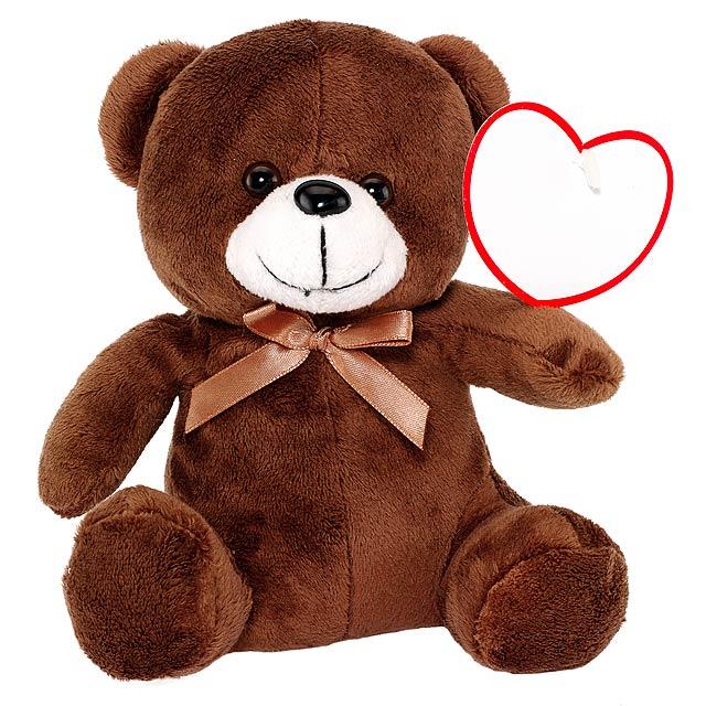 Plyšový medvěd RUBEN - hnědá