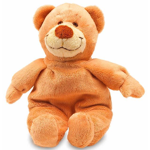 Plyšový medvídek JONAS - hnědá