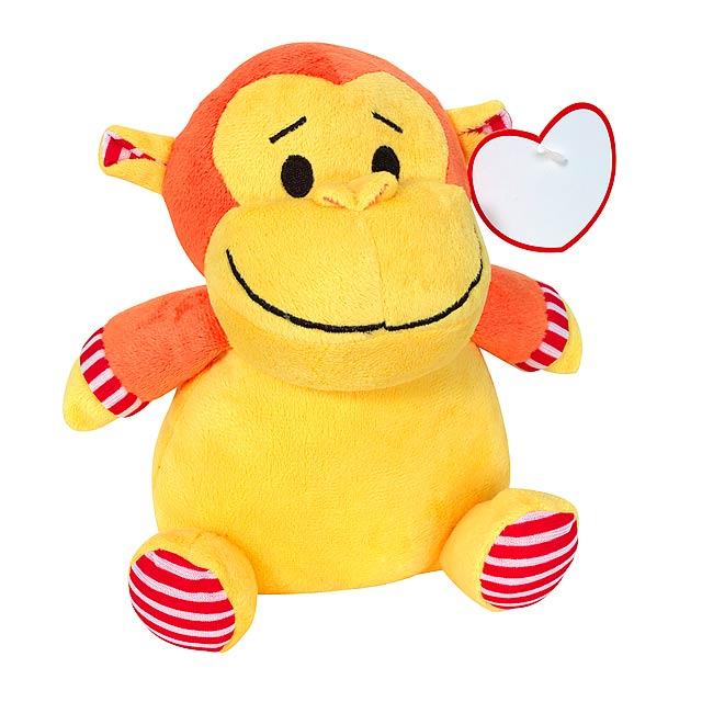 Plyšová opice BILLY - multicolor