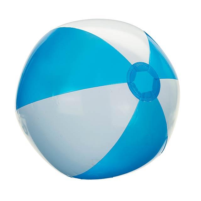 Nafukovací plážový míč ATLANTIC - bílá