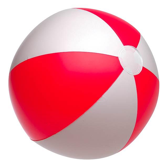 Nafukovací plážový míč ATLANTIC - červená