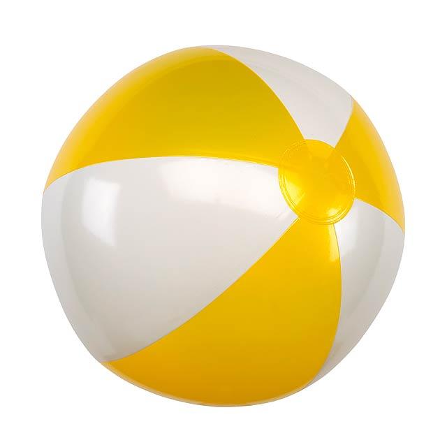 Nafukovací plážový míč ATLANTIC - žlutá
