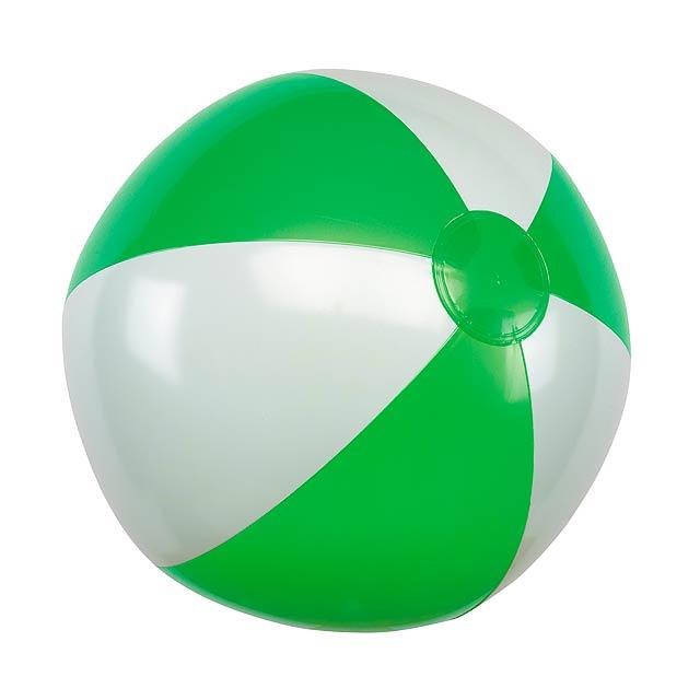 Nafukovací plážový míč ATLANTIC - zelená