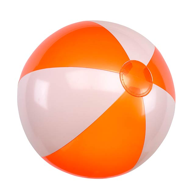 Nafukovací plážový míč ATLANTIC - oranžová