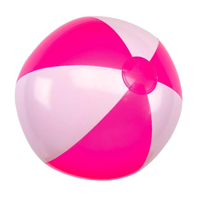 Nafukovací plážový míč ATLANTIC - růžová