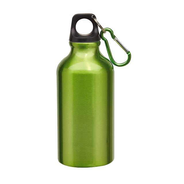 Hliníková láhev TRANSIT - zelená