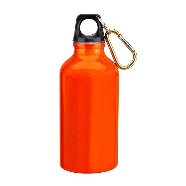 Hliníková láhev TRANSIT - oranžová