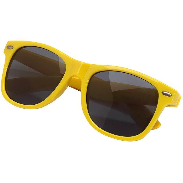 Sluneční brýle STYLISH - žlutá