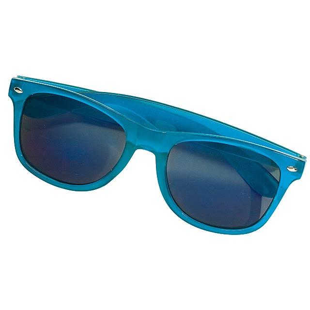Sluneční brýle REFLECTION se zrcadlovými skly - modrá