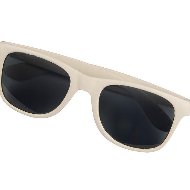 Sluneční brýle NATURE STYLE - béžová