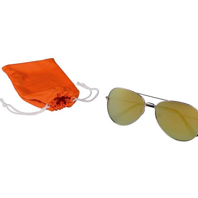 Sluneční brýle NEW STYLE - oranžová