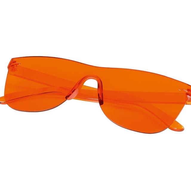 Sluneční brýle TRENDY STYLE - oranžová