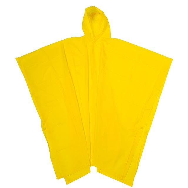Pláštěnka pončo ALWAYS PROTECT - žlutá