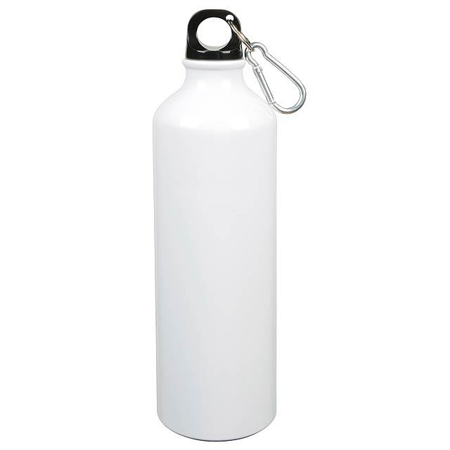 Hliníková láhev na pití BIG TRANSIT - bílá