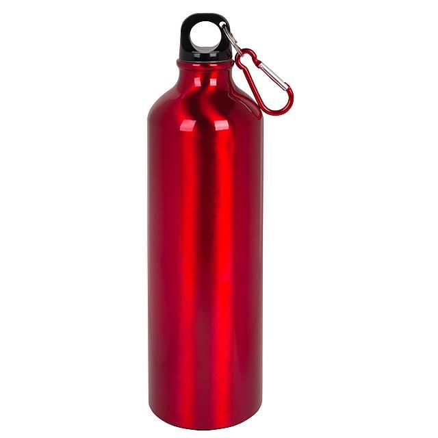 Hliníková láhev na pití BIG TRANSIT - červená