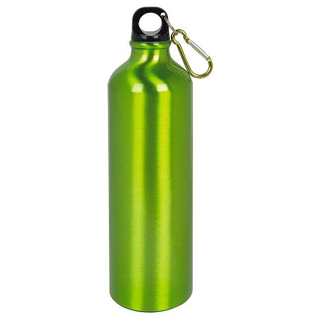 Hliníková láhev na pití BIG TRANSIT - zelená