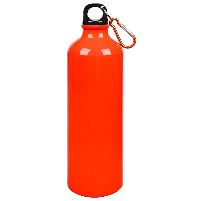 Hliníková láhev na pití BIG TRANSIT - oranžová