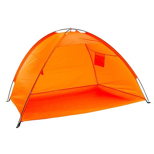 Stínítko na pláž CLOUD - oranžová