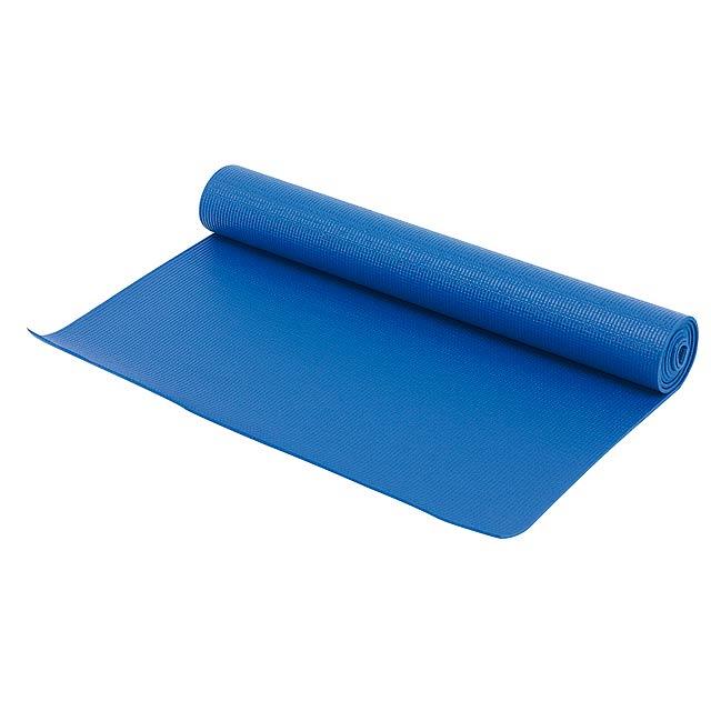 Jóga matrace KARMA - modrá