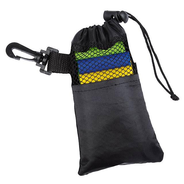 Fitness cvičíci gumy SPORTY BAG - zelená