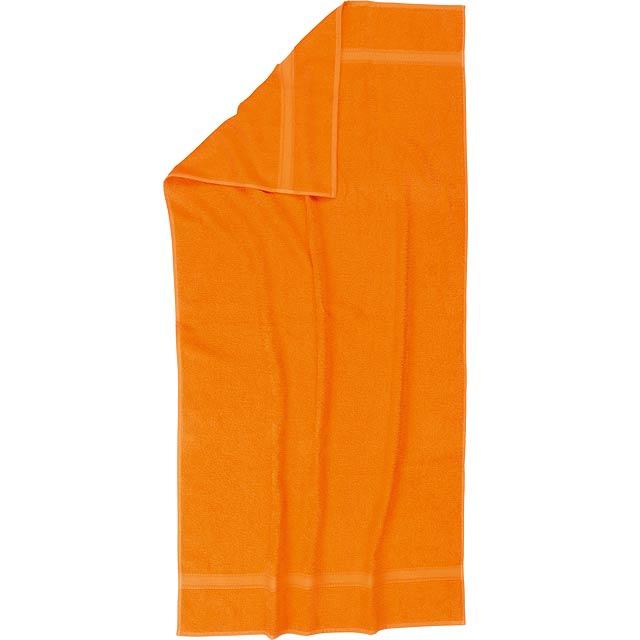 Plážový ručník SUMMER TRIP - oranžová