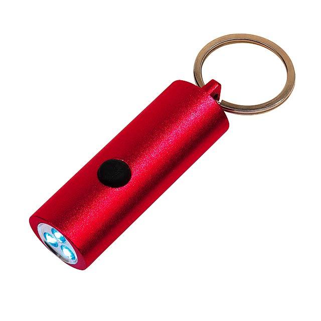 LED svítilna LITTLE LIGHTENING - červená