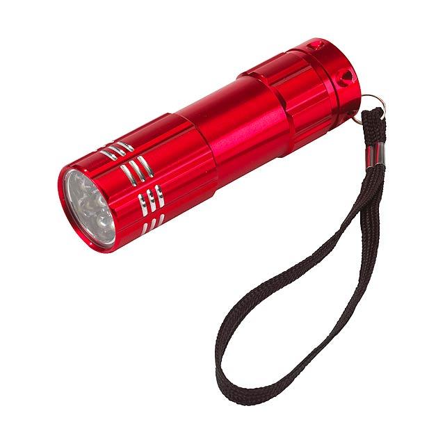 LED baterka POWERFUL - červená