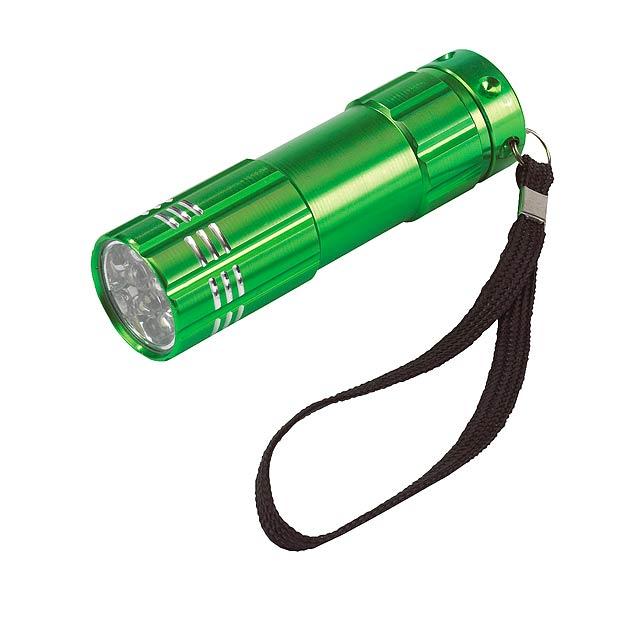 LED baterka POWERFUL - zelená