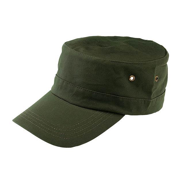 Military kšiltovka SOLDIER - zelená