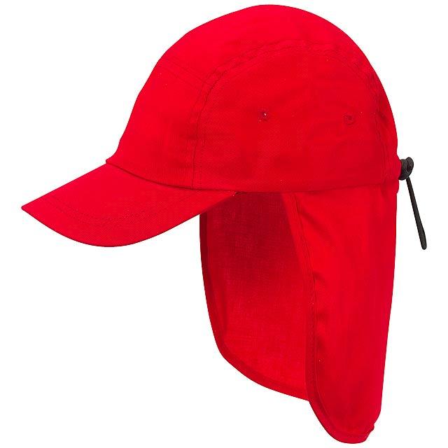 Dětská legionářská kšiltovka WICKIE - červená
