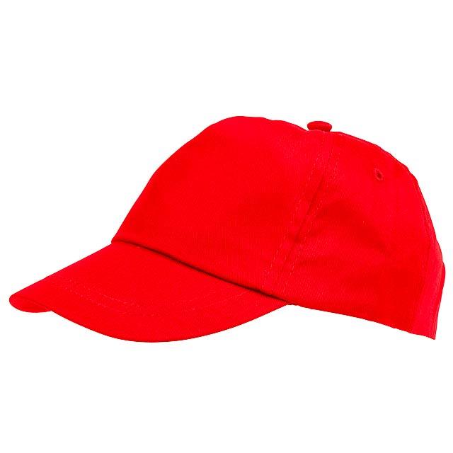 5-dílná čepice pro děti KIDDY WEAR - červená