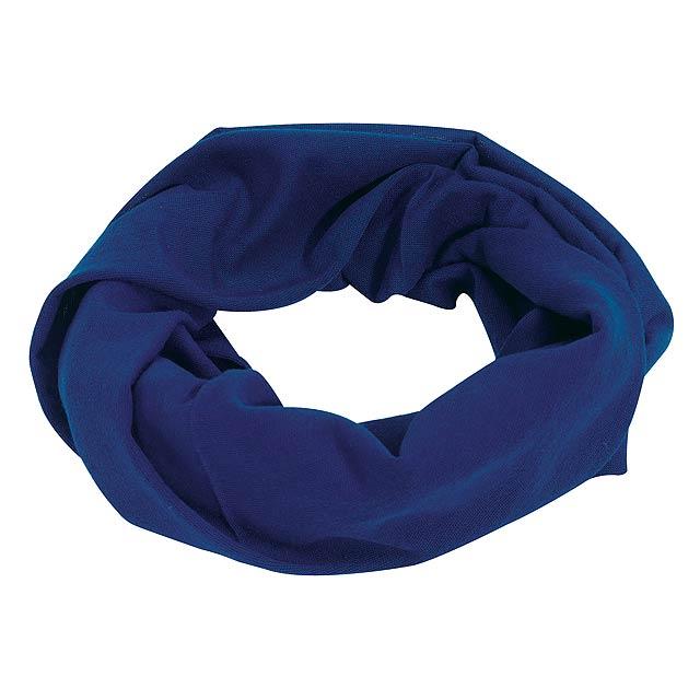 Multifunkční šála TRENDY - modrá
