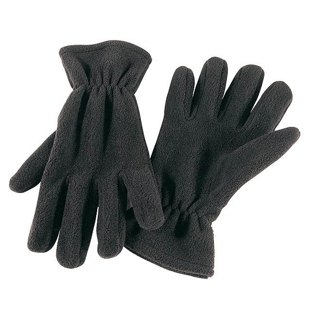 Polar fleece rukavice ANTARCTIC - černá