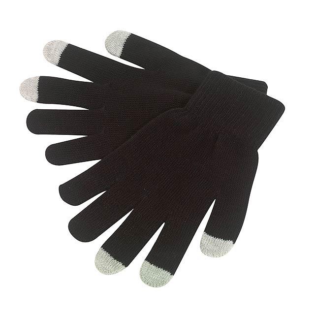 Rukavice dotykové OPERATE - černá