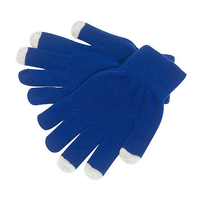 Rukavice dotykové OPERATE - modrá