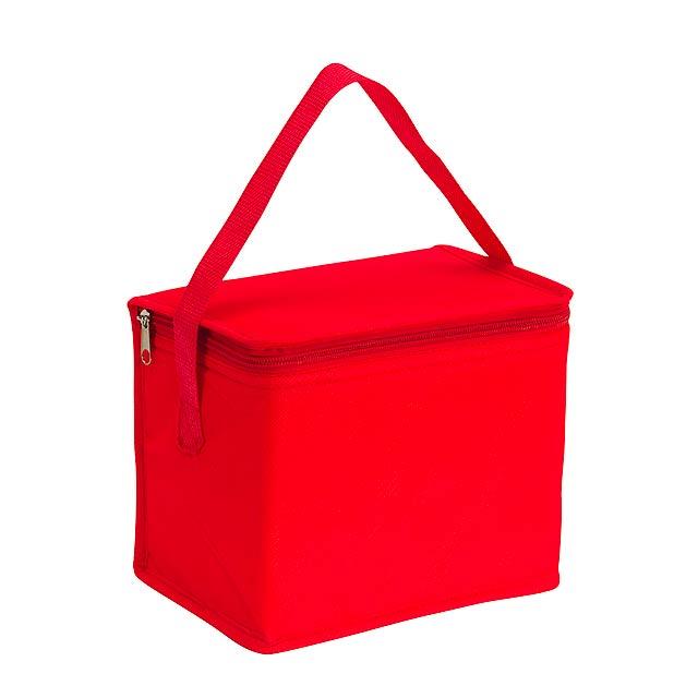 Chladící taška CELSIUS - červená
